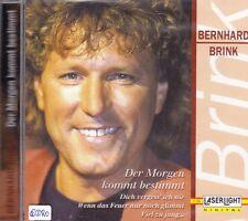 Bernhard Brink + CD + Der Morgen kommt bestimmt + Tolles Album mit 14 Songs +