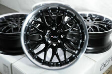 "17"" Black Wheels Rims Toyota Corolla Fit Nissan Kicks Sentra Kia Spectra Tiburon"