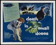 Death In Small Doses Poster 02 A3 Box Canvas Print