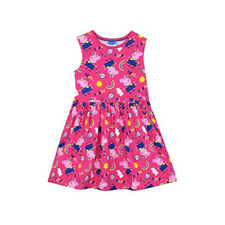 PEPPA PIG HOT PINK SLEEVELESS DRESS - New - Size 2T