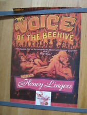 Voice Of The Beehive promo poster girl group Honey Lingers