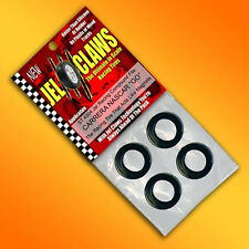 1/43 Scale Carrera GO NASCAR Slot Car Tires Jel Claws 4pk