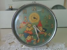More details for vintage smiths noddy alarm clock.
