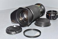 Canon EOS DIGITAL fit 80 200mm 400mm zoom lens 1100D 1200D 70D 750D Rebel Kiss
