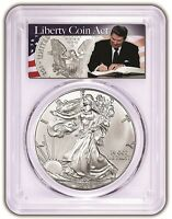 2018 1oz Silver Eagle PCGS MS70 - First Day Issue Liberty Coin 1 of 1000