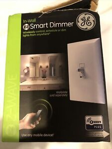 GE Z-Wave Smart Control Lot- Smart Dimmer- In Wall-ZW3004