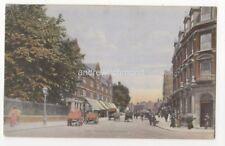 High Street Streatham London 1906 Postcard FC Morgan 817b