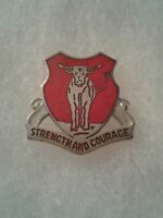 Authentic US Army 82nd Engineer Battalion DI DUI Unit Crest Insignia 3G