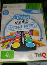 Udraw Instant Artist (Game Only) Microsoft XBOX 360 ������ FREE POST