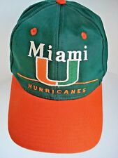 b533ca2a9ea3 Unisex Adult Miami Hurricanes Sports Fan Cap, Hats | eBay