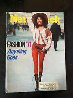 Newsweek Magazine March 29,1971 Fashion 71 , THX 1138 Review, George Lucas Film