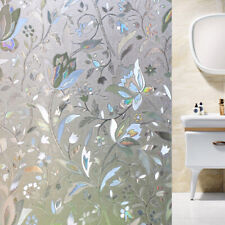 Vinyl Sticker Window Glass Sticker 3D Static Decorative Privacy Window Films