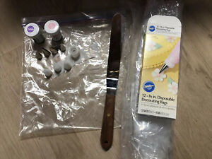 Lot of Cake Decorating Items Wilton Used Misc. Tools WOW GREAT BUY