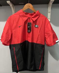 Nike Georgia Bulldogs Football On-Field Sideline Windbreaker Jacket CQ5160-657