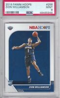 PSA 9 2019 Hoops Zion Williamson Rookie RC Card # 258 PSA 9 Mint