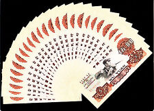 25pcs China 1960 5Yuan Paper Money GEM UNC 25张连号#01