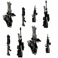 Hot Gift 8x Accessories For Marksman Sniper Rifle Machine Turret Halo Figure Toy