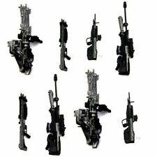 Boys Toys 8pcs Accessories For Marksman Sniper Rifle Machine Turret Halo Figure