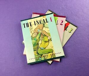 The Incal Collection (1988): 3-Bk- Volumes #1, 2, 3!  Moebius and Jodorowsky!