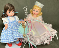 2 Adorable Madame Alexander The Wizard of Oz Dorothy Dolls Glinda The Good Witch