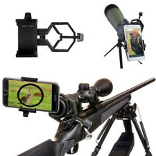 Black Cell Phones Camera Adapter Telescope Binocular Holder Spotting Scope Mount