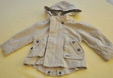 Girl FOR ALL 7 MANKIND linen sahara jacket size 4
