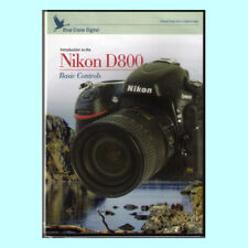 Blue Crane Digital Introduction to the Nikon D800 - Basic Controls Training DVD