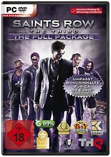 PC DVD Saints Row The Third The Full Package NEUF neuf dans sa boîte neuve allemand M. Outils