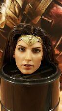 Hot Toys MMS451 Justice League  Wonder Woman 1/6 action figure's head sculpt