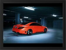 CLS 63 AMG MERCEDES NEW A3 FRAMED PHOTOGRAPHIC PRINT POSTER