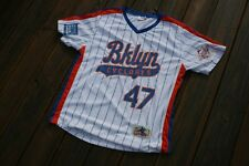 Brooklyn Cyclones #47 Adult XL 1986 NY Mets Celebration jersey