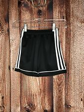 Adidas Climalite Striker soccer shorts black athletic fitness youth 2Xs