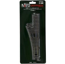 Kato 2-840 Aiguillage Gauche Manuel / Manual Turnout Left R490 22.5° - HO