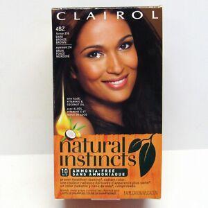 Clairol Natural Instincts Hair Color 4BZ Dark Bronze Brown - 27A Double Espresso
