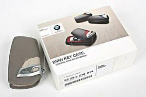BMW GENUINE Key Holder Fob Leather Case/Cover Modern Line 82292219914