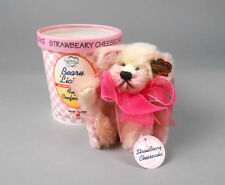 Annette Funicello Beary 'Licious! Strawberry Cheesecake Mohair Ice Cream Bear