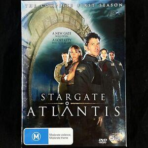 Stargate Atlantis Complete First Season 1 DVD 5-Discs Box Set Region 4 PAL