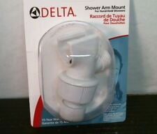 Delta 75003Wh 140 White Shower Arm Mount, Hand-Held, Free Shipping