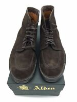 ALDEN SHOES WORK BOOTS 40558 SUEDE