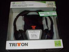 Triton Tritton Mad Catz Primer XBOX 360 Wireless Stereo Headset Brand New