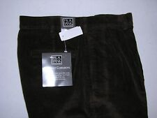 $99.50 New Jos A Bank Corduroy pants in Brown 36 w x 30 pleated front