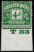 SG D15, 4d dull grey-green, VLH MINT. Cat £175. CONTROL T33. WMK BC