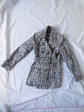 GENERATION BY NEW LOOK SZ 14-15 LEOPARD PRINT WINTER JACKET/COAT WITH BELT