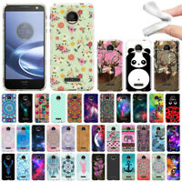 For Motorola Moto Z Force Droid Edition Various Design TPU SILICONE Case Cover