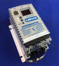 LEESON SPEEDMASTER NODEL 174453 ADJUSTABLE SPEED AC MOTOR CONTROL