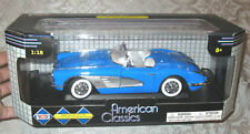 1:18 Diecast Corvette 1958 Convertible by Motor Max MB  FREE SHIPPING