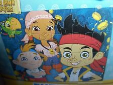 Jake And The Never Land Pirates`24 Big Piece Junior Disney Puzzle`New>Free To US