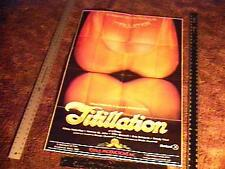 TITILLATION MOVIE POSTER SEXPLOITATION KITTEN NATIVIDAD