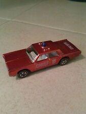 Hot Wheels Redline Fire Chief Cruiser 1968