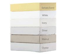 450 Thread Count Pima Cotton Emperor Size Flat Sheet Sand 355cm x 295cm